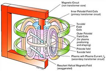 Tokamak Magnetic Circuits